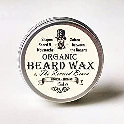 15ml Orgánica Moustache Wax by Barba. Venerado Premium calidad Barba estilo cera