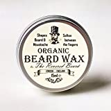 Revered Beard Cire à barbe bio 15ml Cire sculptante pour barbe.