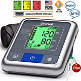 Dr Trust (USA) Automatic Talking Digital BP Checking Machine 'A-One Max' Blood Pressure testing Monitor ( USB PORT )