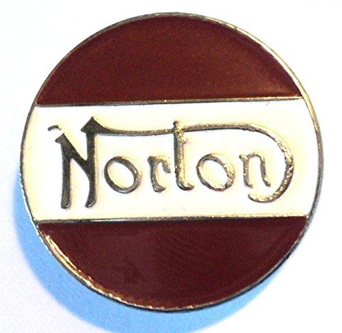 Norton, spilla da moto smaltata da centauro, classica spilla anni '60 Norton Motorcycles