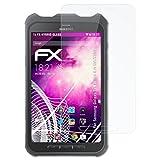 atFolix Samsung Galaxy Tab Active 8.0 SM-T360 Glasfolie - FX-Hybrid-Glass Elastische 9H Kunststoff Panzerglasfolie - Besser als Echtglas Panzerfolie