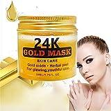 24K Gold Gesichtsmaske, ROMANTIC BEAR Minimizer Pore, Akne-Narbe-Behandlung, Mitesser-Entferner, Anti-Aging, Anti-Falten Gesichtsmaske