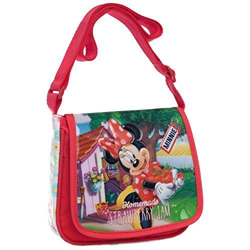 Disney Minnie Strawberry Bolso Bandolera, 1.02 litros, Color Rosa