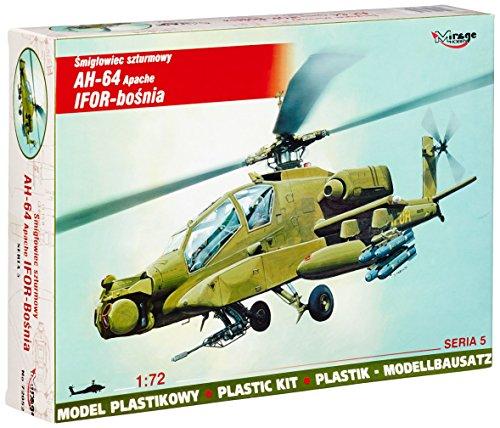 Mirage Hobby 72052 - Mc Donnell Douglas AH-64 Apache IFOR Bosnien, Flugzeug