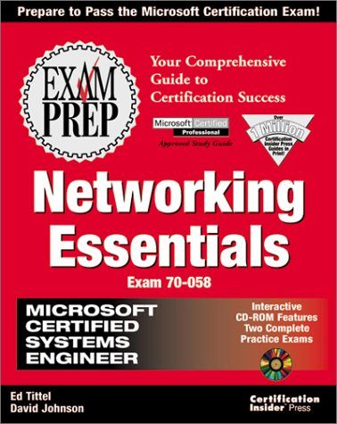 Mcse Networking Essentials: Exam Preparation por E Tittel