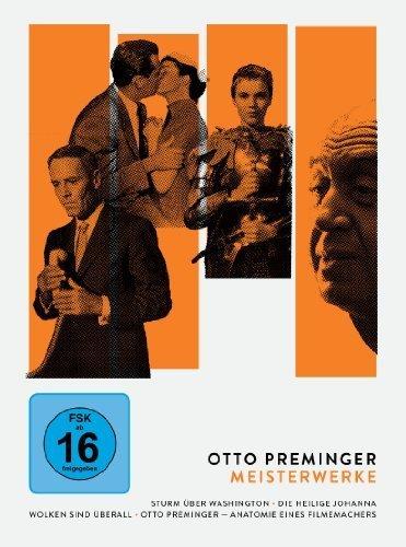 Otto Preminger - Meisterwerke: Sturm über Washington/Die heilige Johanna/Wolken sind überall/Otto Preminger - Anatomie eines Filmemachers [4 DVDs]