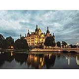 Krumbholz Schwerin Castle Germany Photo Art Print Canvas