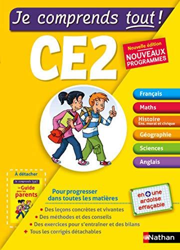 Je comprends tout - Tout en un CE2 - Nouveau programme 2016 par Isabelle Petit-Jean