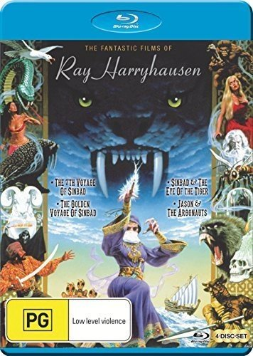 Fantastic Films of Ray Harryhausen [Blu-ray] [Import anglais]
