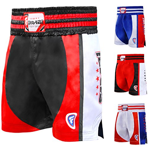 Farabi Fight Gear - Pantalón de Boxeo