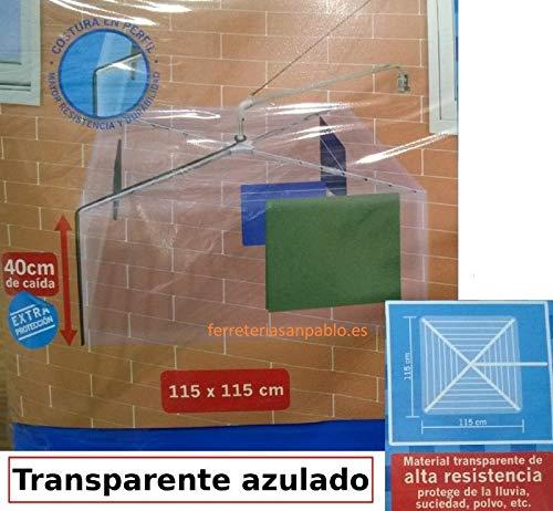 Cuncial Plástico Protector para tendedero Giratorio o Avion