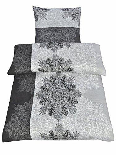 Winter Bettwäsche Flausch Fleece Mirco in 3 Größen, 2x 135x200 + 2x 80x80