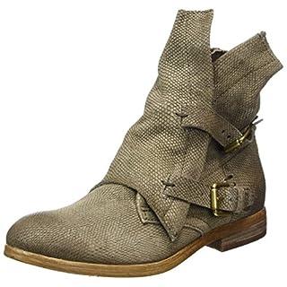Mjus Damen 884210-0201 Biker Boots, Grau (Fossile), 40 EU