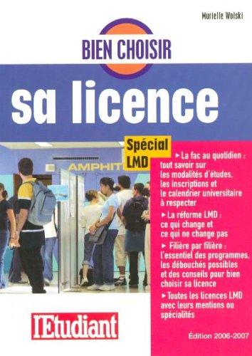 Bien choisir sa licence