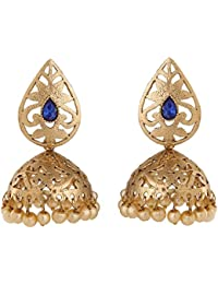 Voril Fashion Blue Colur Alloy Dangle Earring For Women