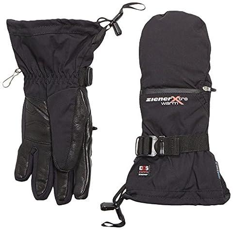 Ziener Kantu Ladies' Gloves AquaShield Primaloft Duo-Component-System Black black Size:8