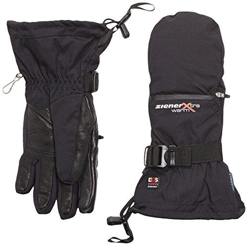Ziener Damen KANTU AS PR DCS Ski-Handschuhe / Wintersport | wasserdicht, atmungsaktiv, sehr warm, schwarz (black), 7.5