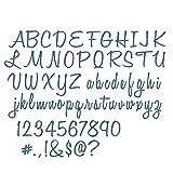 Sizzix Thinlits Stanzschablone Script Upper & Lower