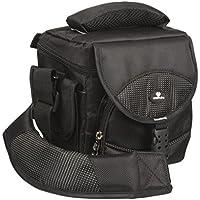 Case4Life Serie Pro Borsa Custodia per Fotocamera Reflex SLR + Protezione pioggia per Kodak Easyshare Max, Z5010, MZ990 - Lifetime Warranty