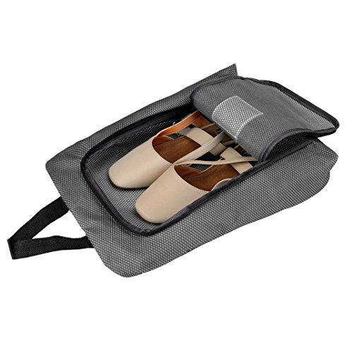 Bolso Zapato,Portátil viaje zapato bolsa zip vista