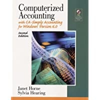 Computerized Accounting With Ca-Simply Accounting for Windows: Version 6.0