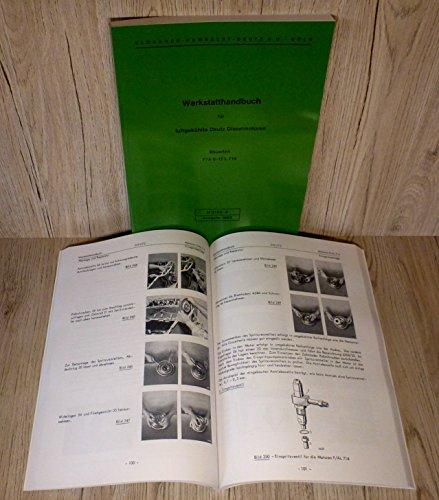 Werkstatthandbuch Deutz Motor F/A 6-12 L 714