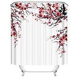 xkjymx Tapisserie Marmor Rosa Tapisserie Stoff Dekor Decke Pflanzen Blumen Einzeldruck Winter Duschvorhang