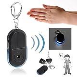 Cercatore chiave allarme anti-perso Utile Portachiavi segnalatore luce per LED (Colore: blu)