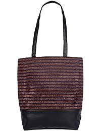 Womaniya Women's Handbag, (Material- Canvas, PU) (Colour- Multi color)
