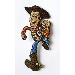 ChewyBuy - Toppa per vestiti, per bambini, motivo: Woody di Toy Story, da stirare o cucire