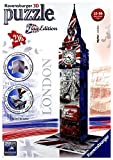 RAVEN 216 EL. 3D Big Ben Flaga [PUZZLE]