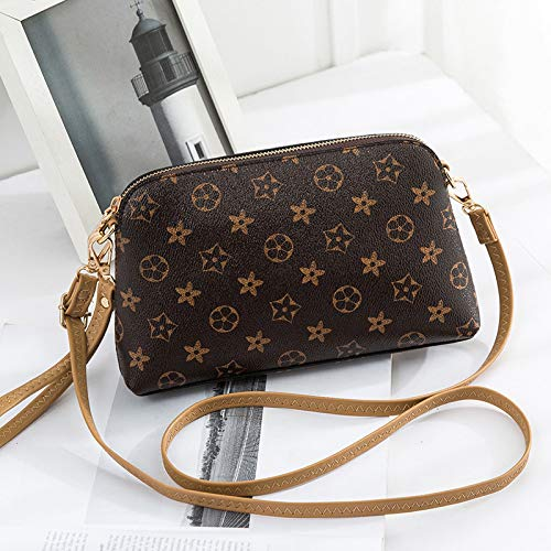 Ldyia Frauen Shell Tasche drucken Crossbody Mini Kette umhängetasche Damen Kupplung, geeignet für Party, einkaufen, Reisen, Geschenk, gürtel Version