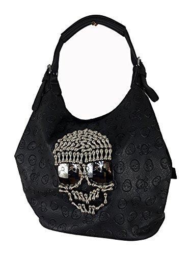 (Einkaufszauber Beuteltasche Skull Gothic Totenkopf Coool II)