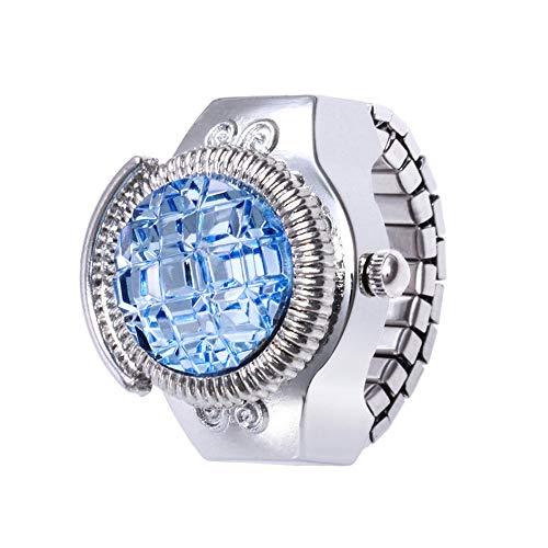 Cramberdy Damen Quarzuhr Ringuhr Ring Uhr Fingeruhr Uhr Damen Armbanduhr Frauen Armbanduhr Mädchen Mode Analog Quarzuhr Uhr Frauen Uhren