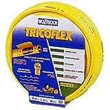 tricoflex, _, manguera 50 metros tricoflex color amarillo diametro 25 mm