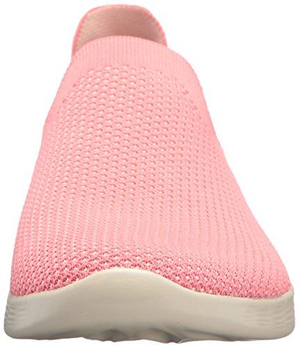 Skechers Define, Tongs Femme Rose (Pink Pnk)