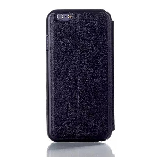 iPhone Case Cover dia antwort style fall pu - ledertasche seide muster stehen für iphone 6 65 ( Color : 3 , Size : IPhone 6 6s ) 2