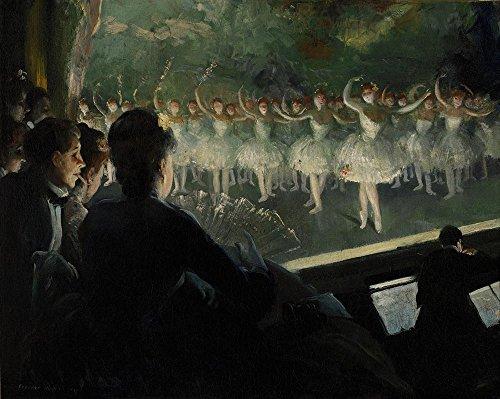 Das Museum Outlet-Everett Shinn-The weiß Ballet-Größe A3Poster Print Online