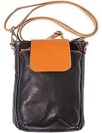 sac à main avec une poignèe ,à èpaule et bandoulière 8685 (Jaune-marron)