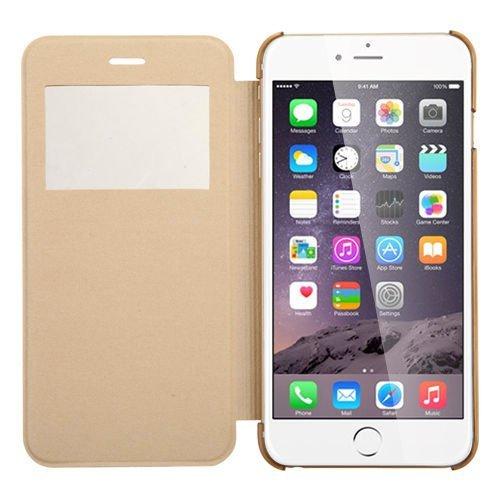 iPhone 6S Plus Hülle, Pasonomi® [Outdoor] [Heavy Duty] [Dual Layer] Ultra-dünne Schutzhülle Case Cover mit Ständer für Apple iPhone 6 Plus (2014) / iPhone 6S Plus (2015) (Kickstand-Rot) View-Gold