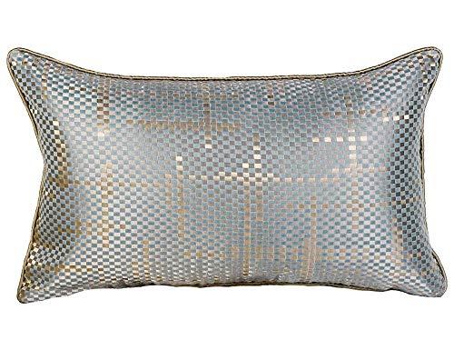 FENGZY Gewebte Seide Und Satin Kissenbezug Einfache Moderne Französisch Italienisch Klassische Sofa Nacht Rechteck Gold Kissenbezüge Taille Kissen -