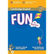 Fun for Starters Teacher's Book with Audio Third Edition