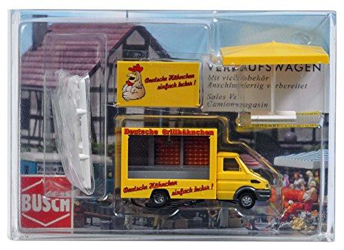 Busch 5426 - Hähnchen-Grillwagen, Fahrzeug