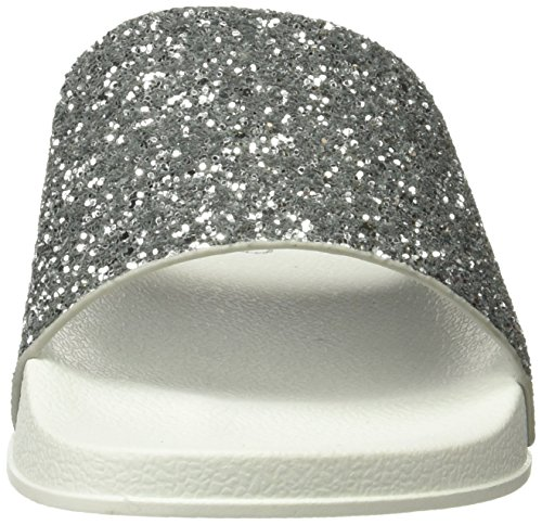 Coolway 79051420002038, Infradito Donna Argento (Silver/Plata)