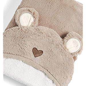 Mamas & Papas Hooded Towel, Baby Towel, Soft, Bear - Millie & Boris
