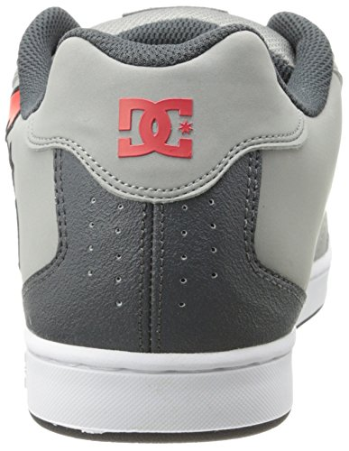 DC Shoes Net, Baskets mode homme Gris (Xssr)