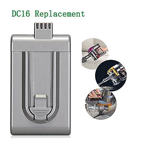 2000mAh Batterie pour DYSON DC16 Handheld Batterie 12097 912433-01,912433-03,912433-04 rechargeable Li-Ion Battery Pack