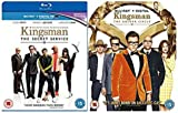 Kingsman 1-2 Complete Blu-Ray Collection : Kingsman The Secret Service / Kingsman The Golden Circle