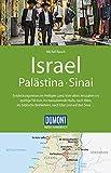 DuMont Reise-Handbuch Reiseführer Israel, Palästina, Sinai: mit Extra-Reisekarte - Michel Rauch