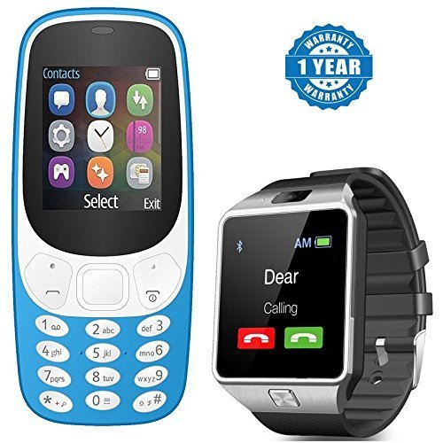 Captcha-Dual-Sim-Mobile-with-Money-Detector-Light-and-DZ09-Android-Smartwatch-with-TF-Card-Camera-for-Nokia-XL-A3310